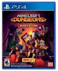 Minecraft Dungeons Hero Edition Sony PlayStation 4 $16.00