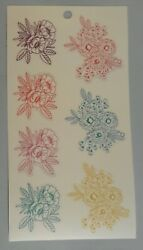 Happy Planner Colorful Flowers stickers MAMBI 262131 $1.00