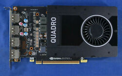 NVIDIA Quadro P2000 PG410 5GB 160bit GDDR5 PCI Express 3.0 x 16 GPU video card $350.00