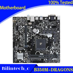 FOR ASUS B350M DRAGON Motherboard Support M2 AMD R3 R5 DDR4 32G AM4 VGADVI $128.46