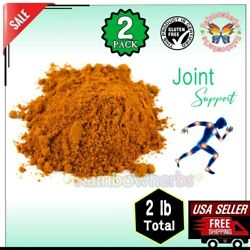 2 Pack Piping Rock ORGANIC GROUND TURMERIC 1 lb Joint amp; Immune Health Supplement $24.64