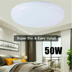 Bright Round LED Ceiling Light Down Lights 50W Living Room Bathroom Wall Lamp $13.99