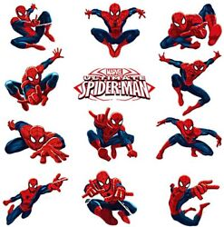 Spiderman Wall Decals Spiderman Stickers For Wall For Boys Bedroom $22.50