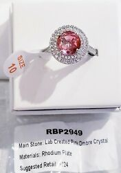 Ring Bomb Party Size 10 Beautiful Ombre Crystal Ring # 2949 $22.00