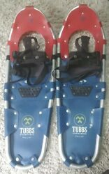 Tubbs Discovery Blue Red 27 Inch Metal Claw Snow Shoes $100.00