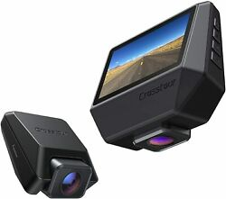 Dash Cam Front and Rear Crosstour 2.5K Car Camera GPS Dash Camera for Cars 3 In $105.99