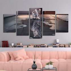5pcs Unframed Modern Art Oil Painting Print Canvas Picture Home Room Wall Decor $14.24