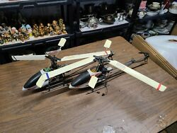 Lot of 2 walkera helicopters w controller WK 701 G011 gyro brushless $500.00