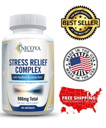 All Natural Anti Anxiety amp; Stress Relief Supplement Complex $9.45
