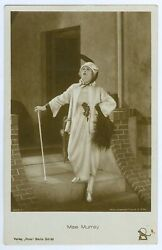 Silent Movie Actress Mae Murray Vintage Ross Photo Postcard $8.99