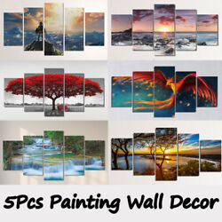 5PCS Unframed Modern Art Oil Painting Print Canvas Picture Home Wall Room Decor $12.34