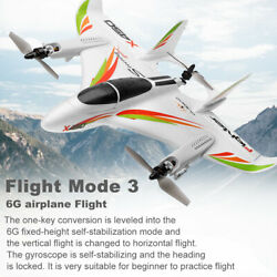 WLtoys XK X450 2.4G 6CH RC RTF Airplane Aircraft Fixed Wing RC Helicopters A7H1 $128.89