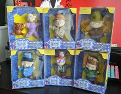 Mattel Nickelodeon The Rugrats Movie Soft Pal Complete Set Lot New Sealed 1998 $49.99