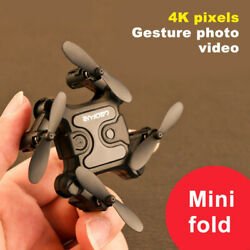 Mini Drone Camera Follow Me Rc Helicopter Hight Hold Modus Rc Quadcopter drone $43.85