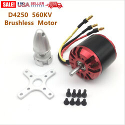 D4250 560KV 3 7S Brushless Motor for RC FPV Fixed Wing Drone Airplane Airc K8W5 $27.29