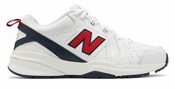 New Balance Men#x27;s 608v5 Shoes White with Red $59.99