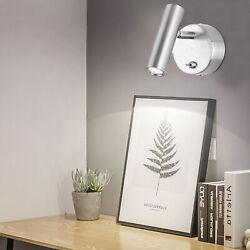 3W LED COB Wall Light Indoor Lighting Wall Light Reading Bedside Lamp Warm White $35.01