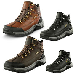 Men#x27;s Mid Ankle Military Trekking Hiking Boots Combat Waterproof Boots Shoes $49.99