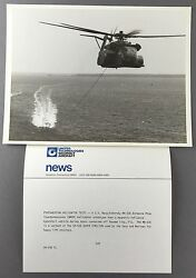 SIKORSKY MH 53E HELICOPTER LARGE OFFICIAL PHOTO MINE SWEEPING GBP 24.85