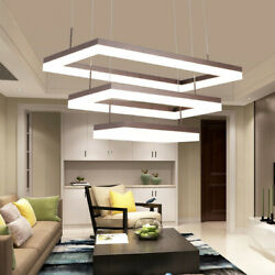 Contemporary Pendant Light LED Acrylic Adjustable Chandelier for Living Room $299.00