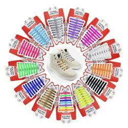 16pc Novelty Shoe Laces Silicone Shoelace Sneakers Flat Shoestring Hammer Shape $6.37