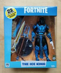 """EPIC GAMES Fortnite THE ICE KING 7"""" Deluxe Figure McFARLANE TOYS $75.00"""