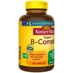 Nature Made Super B Complex Tablets for Metabolic Health 460 ct. $15.98