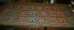 3 Burlap Nautical Banner Rustic Decorations 6#x27; length Used Once $22.00