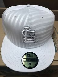 st louis cardinals NEW ERA 59FIFTY FITTED HAT SIZE 8 $14.95