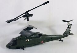 YIBOO REMOTE RADIO CONTROL R C HELICOPTER FOR PARTS UNTESTED $19.75