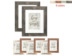 8 Pcs Wood Picture Photo Frame Collage Set Wall Hanging Modern Home Decor Gift $37.99