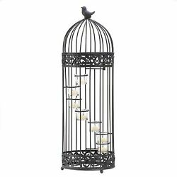 Birdcage Staircase Candle Stand $51.05