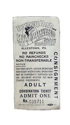 Vintage Dorney Park Wildwater Kingdom All Day Ride Pass Consignment Allentown pa $199.00