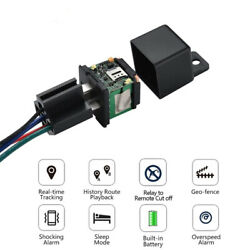 GPS GSM Car Tracker Real Time Device Security Locator Remote Control Anti theft $19.89