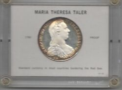 1780 Maria Theresa Silver Proof RESTRICK $48.00