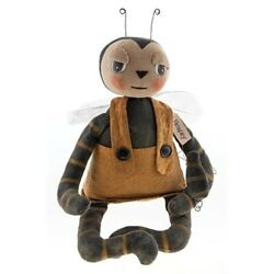 New Primitive Country Rustic Grungy HONEY BEE DOLL Figure 15quot; $32.99