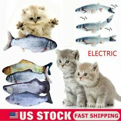Electric Moving Cat Kicker Fish Toy Realistic Shaking Fish Wiggle for Pet Cats $6.99