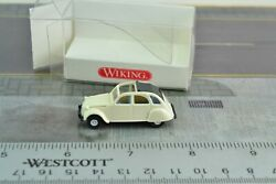 Wiking 8090520 Citroen 2 Cylinder White 1:87 Scale HO $14.99