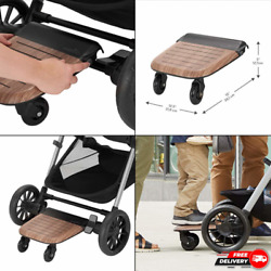 Evenflo Stroller Rider Board Convenient Riding Options Holds up to 50 Pounds $47.99
