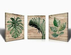 Banana Leaf Nature Wall Art Canvas Paintings kitchen Living room Painting For... $40.05