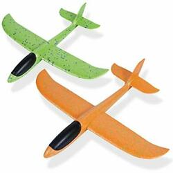 Airplane Toys 17.5quot; Large Throwing Foam Plane Durable Anti collision Flight M... $18.10