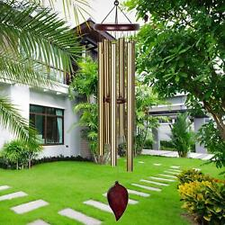 Wind Chimes Indoor Outdoor Large Deep Tone 30 Inches Musically Tuned Wind NEW $22.91