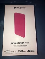 New Mophie Powerstation Mini With Usb C Port Apple iPhone 5 12 Universal $11.00