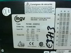 MGV P4180 030512 Compact PCI Power Module Uson 4 DC Output Stag Used $388.82