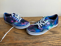 Vans Off The Wall Girls Stars Galaxy Casual Shoes Size 6 $24.99