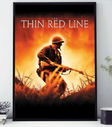 1998 The Thin Red Line Movie Print Poster Vintage Poster Wall Decor No Frame $19.80