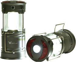G F Products 2 Pack 360 LED Lanterns flashlights Emergency Lights with Magnet $13.87