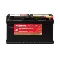 ACDelco 49AGM Battery Professional Automotive AGM Starting 12 V 1080 Cranking $201.99