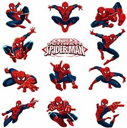 Spiderman Wall Decals Spiderman Stickers For Wall For Boys Bedroom $22.86