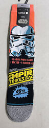 Stance Star Wars Trooper Casual Socks Size Large Empire Strikes Back Men#x27;s NWT $19.99